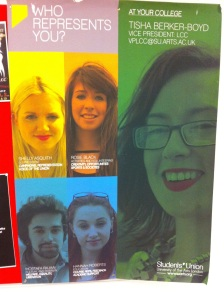 SUARTS poster in LCC