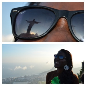 Facing Christ the Redeemer, finding myself in Brazil was a fulfilling experience!