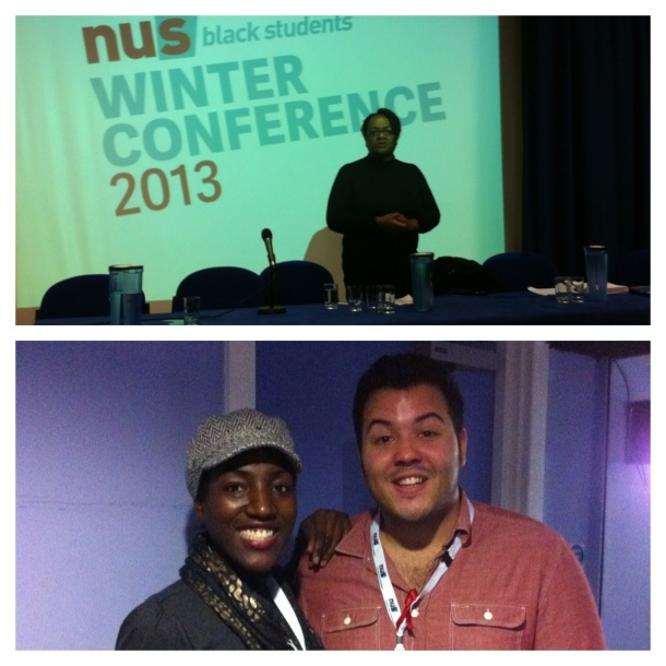 Above: Keynote speaker, Diane Abbott MP inspires us from the very beginning. Below: A picture with Aaron Kiely at the end of a long, but successful event.