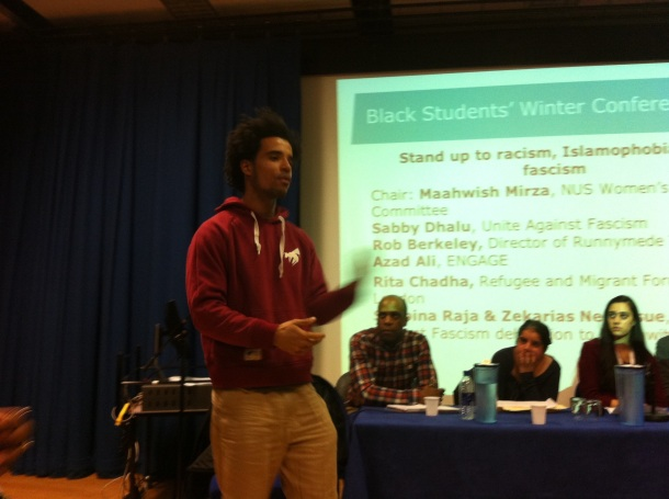 Talented Akala spoken to as through his gift of spoken word... Its was Powerful!