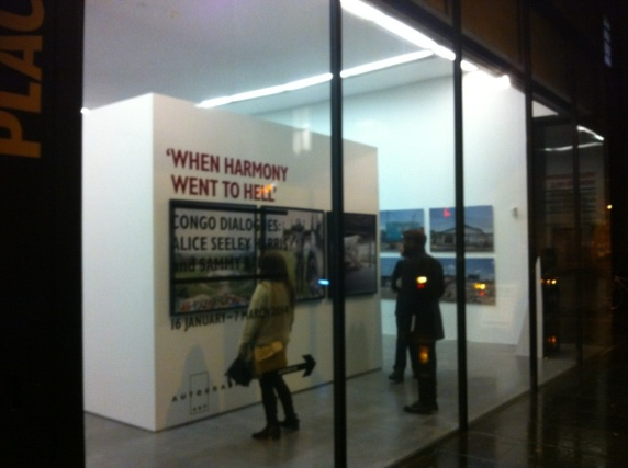 When Harmony went to Hell; Congo Dialogues at Rivington Place