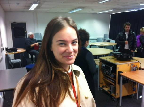 Journalism Student Paula