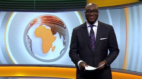 Ghanaian reporter Komla Dumor reported Focus on Africa for the BBC. RIP