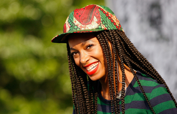 Afrocentric: Ambassador of the print; Solange Knowles