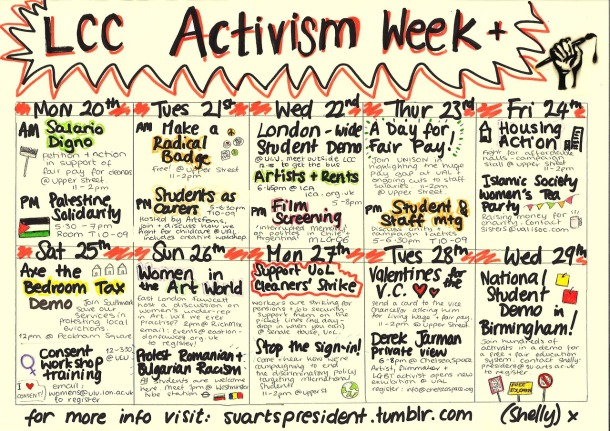 Get ready for a week of Activism at LCC