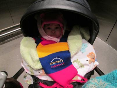 Baby activist!