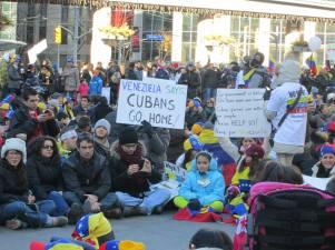 """""""Cubans go home..."""""""