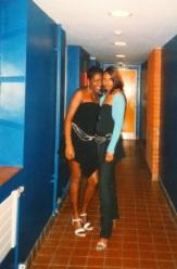 with my bestie. 10 years+ of friendship...