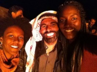 A genuine smile? With one of our Bedouin host