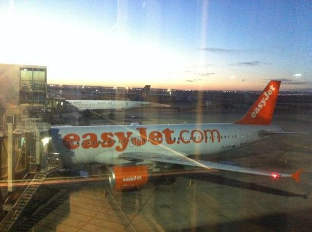 My Easyjet flight awaites