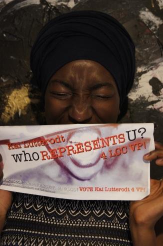 suarts.org/vote Kai Lutterodt #1 VP 4 LCC