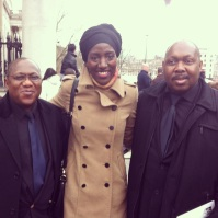 With the cousins of Dumor: my 'second-dad' Uncle Charles and Uncle Philip,