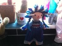 doll from Oaxaca Mexico