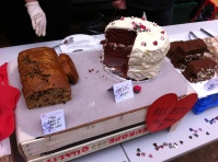 The Red velvet cake was a hot seller!