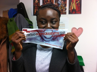 Fuse magazine Ire shows her support!