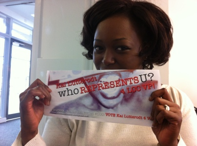 """My NUS """"I will lead"""" coach Yemi shows her support!"""