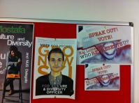 My posters are up - so the my two favourite people for Culture and Diversity! Have a look at both Mostafa and Michal's posters...