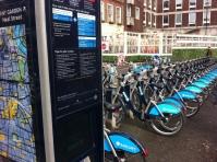 My Boris bike journey starts from Soho...