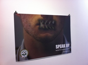 SPEAK UP! Homophobia in Football - check out exhibition at LCC