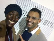 We Support You: Tahir BA 1st Yr Advertising student @LCC took 1st runner up! Well done!
