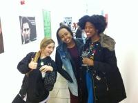 BA PR students enjoy the event...