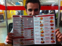 A choice of Polish dishes - not including Mihal lol!