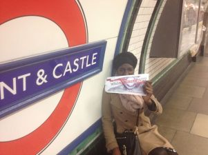 spontaneous pics as I get the tube home after a long day