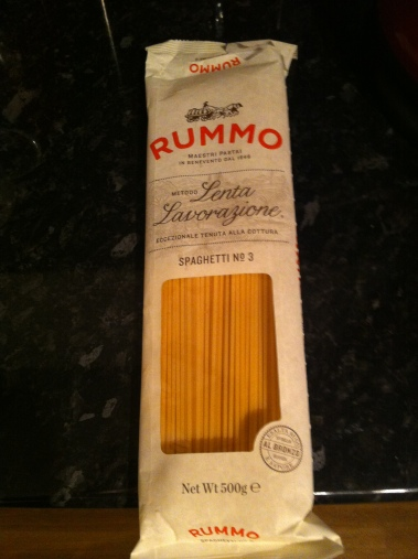Spaghetti from Roma
