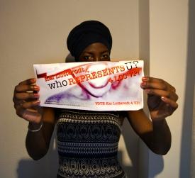 Shoot by Rebecca Taylor: suarts.org/vote Kai Lutterodt #1 VP 4 LCC
