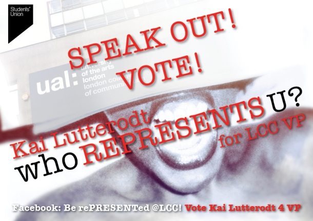 It's 10am! CAMPAIGNING has OFFICIALLY began! VOTE KAI LUTTERODT 4 LCC VP!