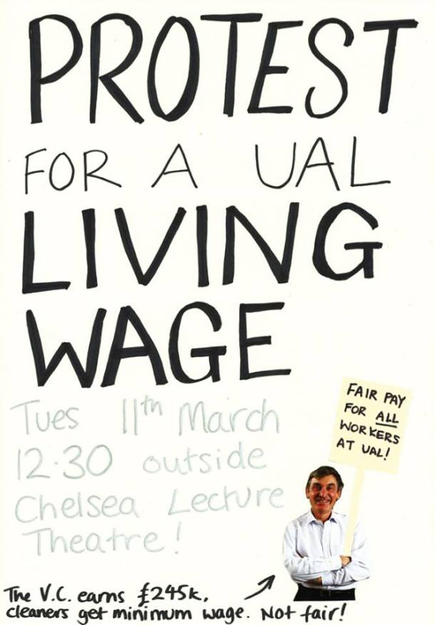 Shelly's poster: here are some rubbish posters. calls to arms going up on toilet roll all over college tomorrow