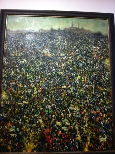 Protest - Kolade Oshinowo 2013 (£24, 000)