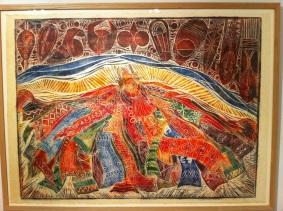 Dancing Masquerade - Tayo Quaye 1997 (£4,500)