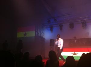 DJ Abrante amuses the crowd