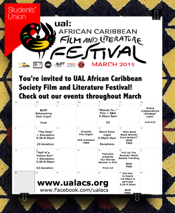 UAL Film and Literature Festival2