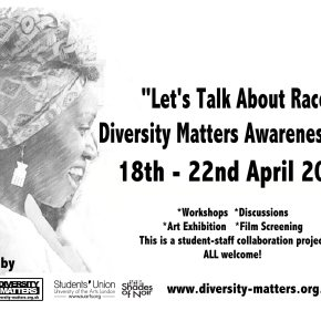 Diversity Matters Awareness Week 18th – 23rd April
